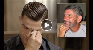 مصاحبه رونالدو(اشک ریختن پس از دیدن فیلم قدیمی از پدر)