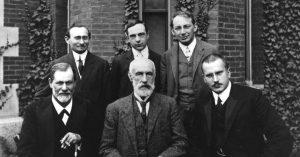 عکس دسته جمعی روانشناس مطرح جهان با حضور یونگ و فروید