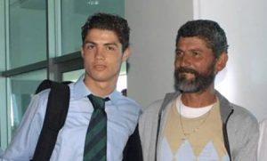 رونالدو و پدرش