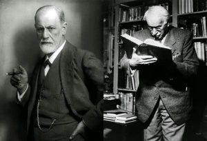 تقابل نظریات فروید و یونگ